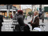 Would YOU breastfeed a stranger's baby