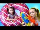 Вредные детки в школе Bad Kid Учим Цвета Машинки Learn colors with Cars Битва За КОНФЕТЫ GIANT Donut