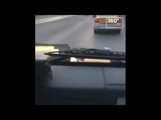 Полиция изучает видео гонок на Gelandewagen на Новом Арбате