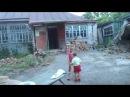 молодая семейная пара в деревне с детьми и последний день без условий но СЕМЬЯ с ...