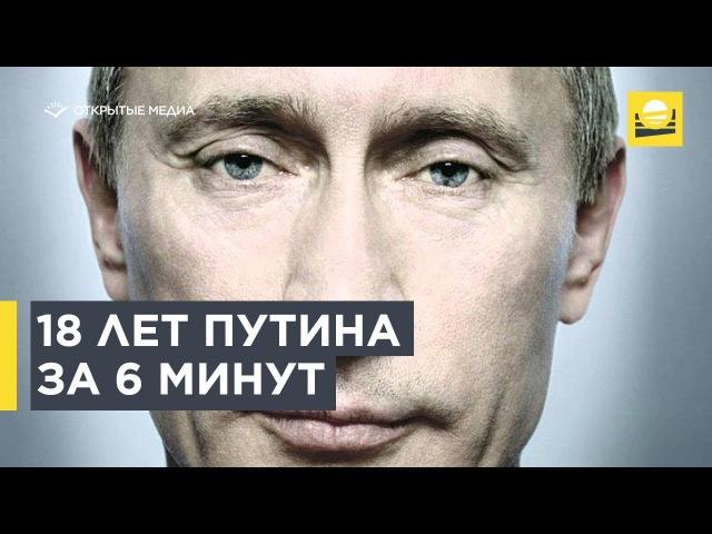 18 let Putina za 6 minut