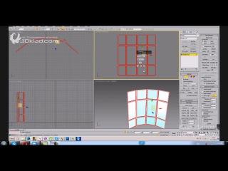 Моделирование окна  Круглые окна  Эркеры  Окно любой формы в 3D max