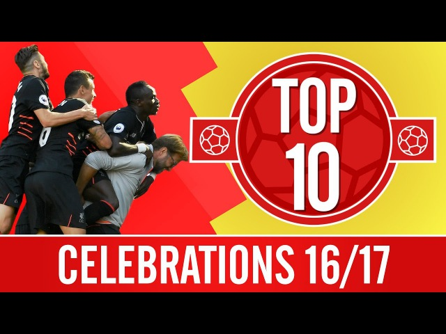 Top 10: Piggybacks, dancing and hugs with fans | The best celebrations of the season