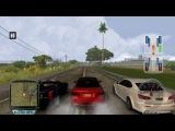 Test Drive Unlimited ReincarnaTion BMW M3 E92 VS Lexus IS F VS Cadillac XLR-V Race 1