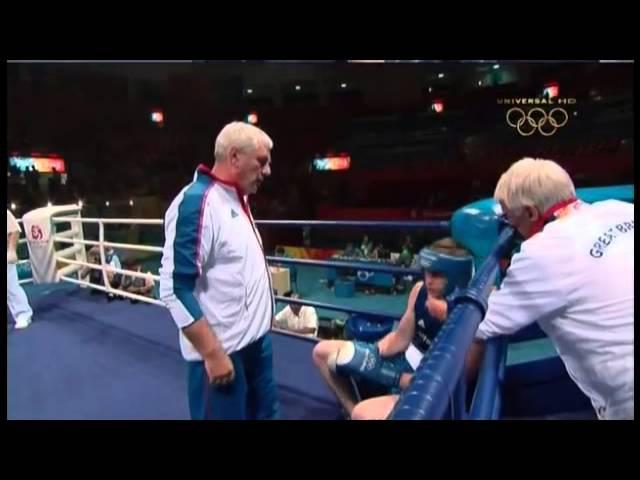 Олимпийские игры 2008, Пекин, бокс (boxing), свыше 91 кг, 1/16 финала, Тимурзиев Ислам-David Price