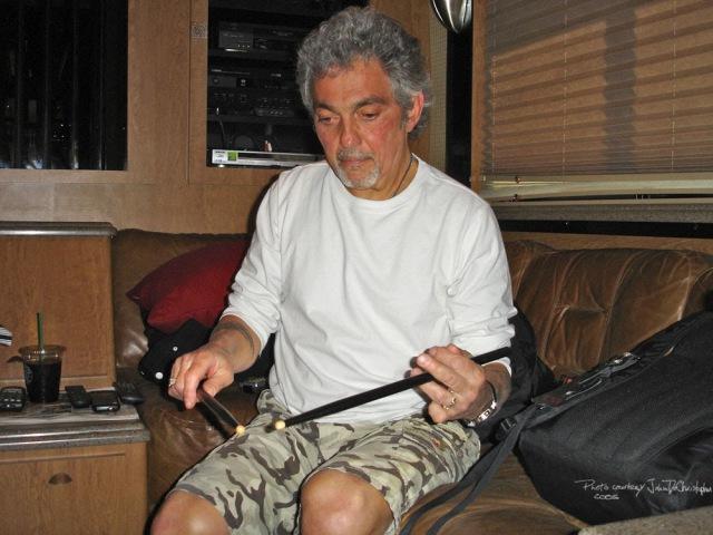 The Gadd Flutter Lick Revisited - The Classic Steve Gadd Ghost Note Drum Lick - thru Audix Mics