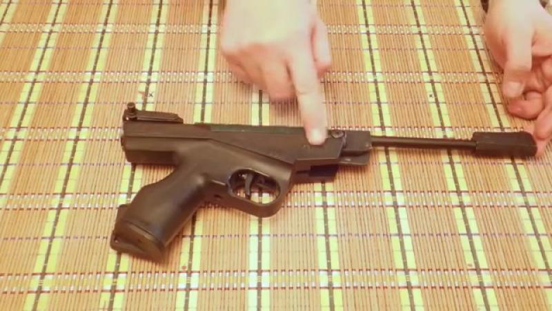 Пистолет ИЖ-53М - легенда СССР