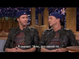 Rus Sub _ Will Ferrell and Chad Smith Talk About Their Rivalry