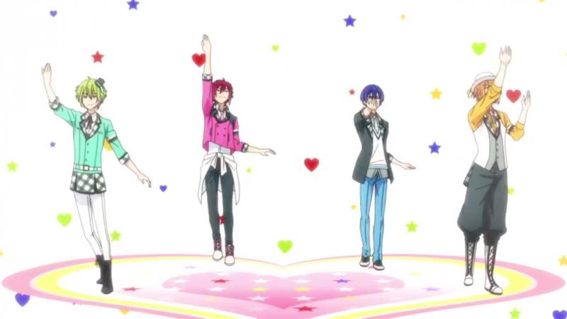Anime365 Запредельная четверка момент из аниме Marginal4 Kiss kara Tsukuru Big Bang