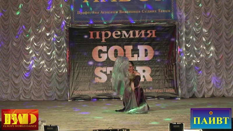 GOLD STAR 2016_Violetta Karpenko_тренер года (выступление ученицы)