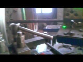 Обработка опорного кольца дробилки