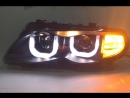 New Super Headlights with 3D Angel Eyes for bmw e46