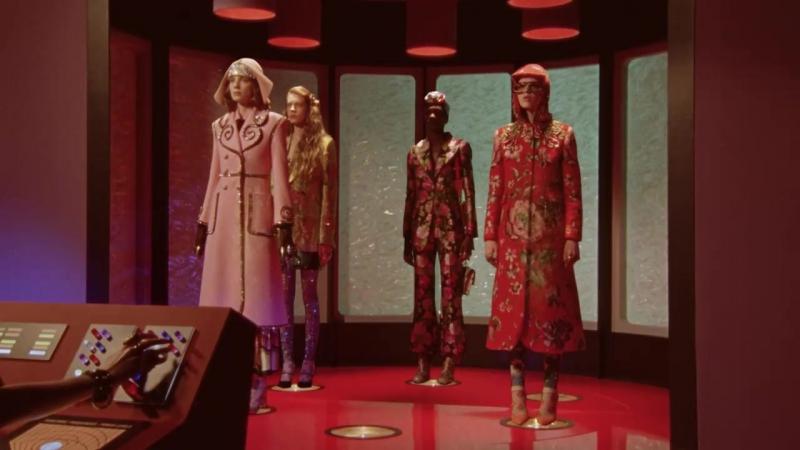 Звездный путь (Star Trek) - Реклама одежды от Gucci (осень/зима 2017)