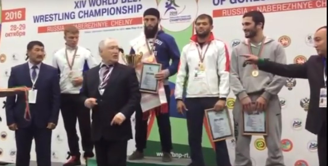 Спортсмен из Зеленчукского района стал чемпионом мира по борьбе на поясах