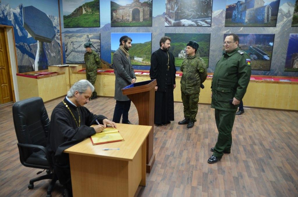В воинской части Зеленчукского района появились две молитвенные комнаты