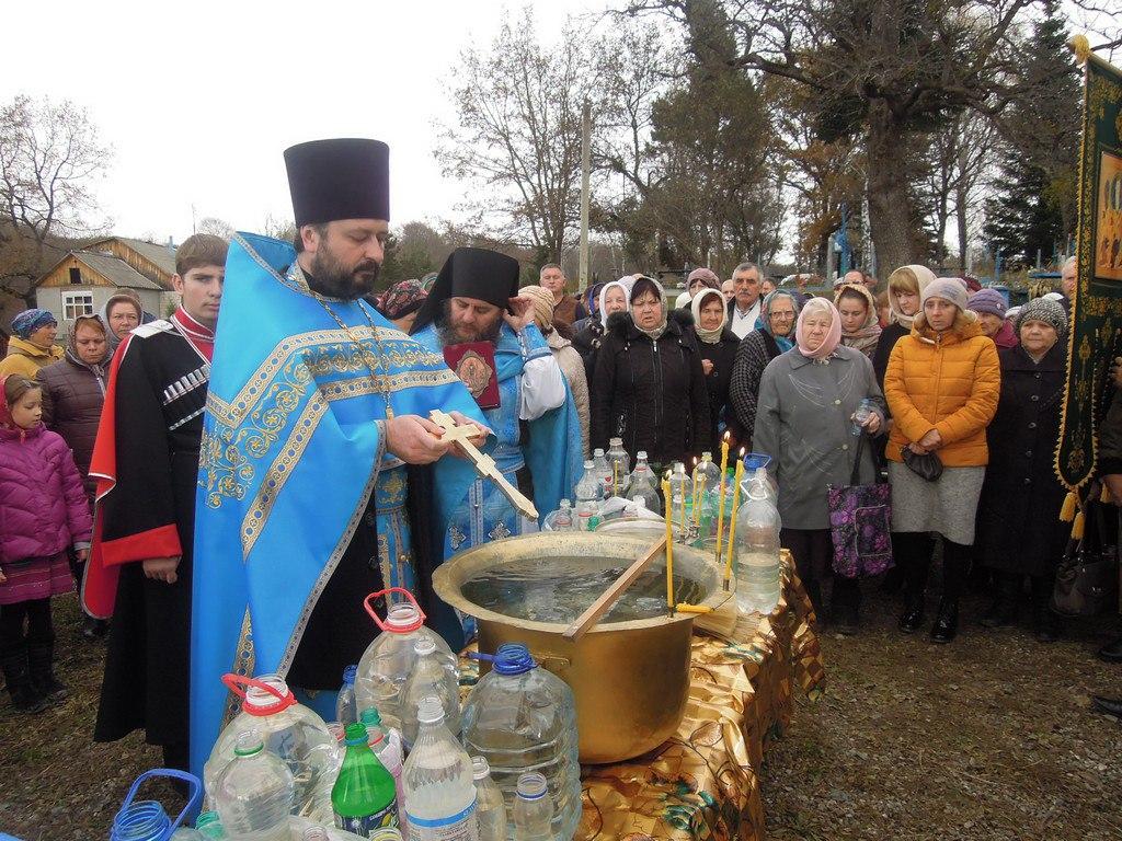 В Марухе отметили Престольный праздник