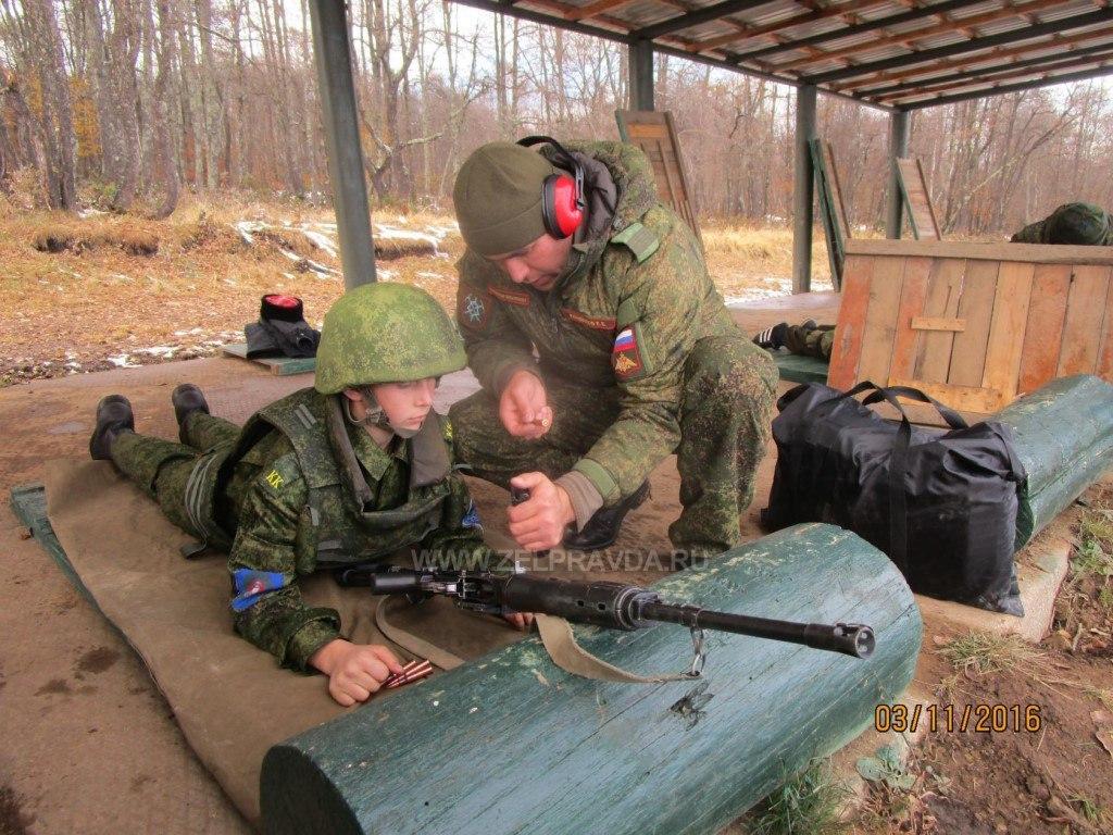 Казаки Зеленчукского района приняли участие в учебных стрельбах