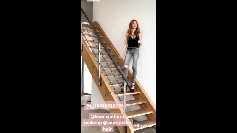 The Wrap on Instagram Story. Oh ho Kitkatsmeow