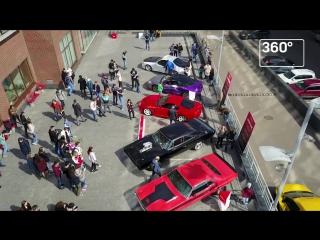 Выставка машин из фильма «Форсаж»