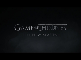 Promo к сериалу Game of Thrones