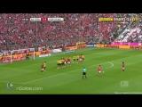 Bayern Munich 2-0 Borussia Dortmund - Lewandowski 10