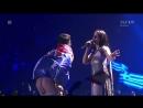 Виталий Седюк показывает свою задницу в  финале Евровидения 2017!