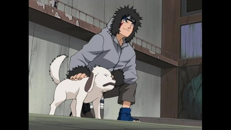 Наруто 1 сезон 44 серия. Акамару приходит на помощь!! Кого побьют как собаку? (2х2 озвучка)