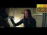 Наташа Романофф помогает Капитану Америка.  HD   Captain America The Winter Soldier