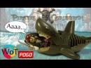 Лего Акула Призрак и Капитан Джек Воробей из Пиратов карибского моря