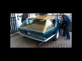 Jay Kay from Jamiroquai in his rare green estate Ferrari!! Unique