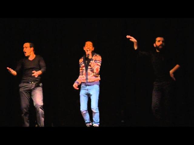 LES inqualifiables Fayçal Azizi - Hak A Mama ( Live ) 041215