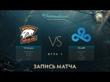 Virtus.pro G2A vs Cloud9, The International 2017, Групповой Этап, Игра 1