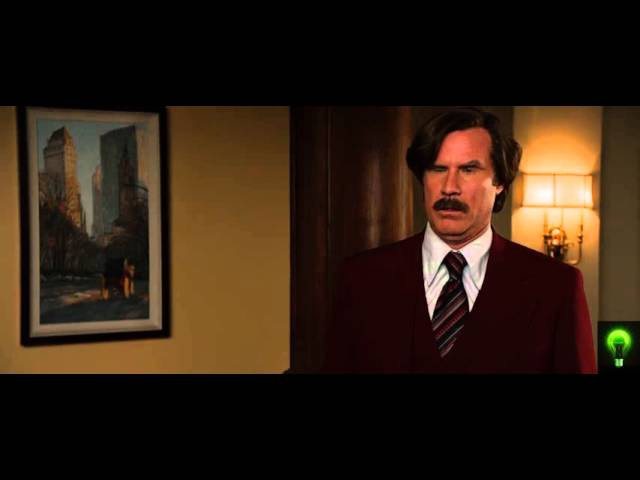 Anchorman 2: The Legend Continues - Ron Burgandy shatters sons career aspirations