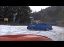 Subaru Impreza WRX Wagon Snow Drifting - Prodrive Blobeye