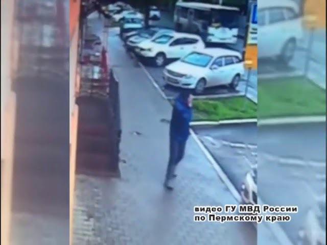 В Перми полиция разыскивает хромого грабителя с ножом
