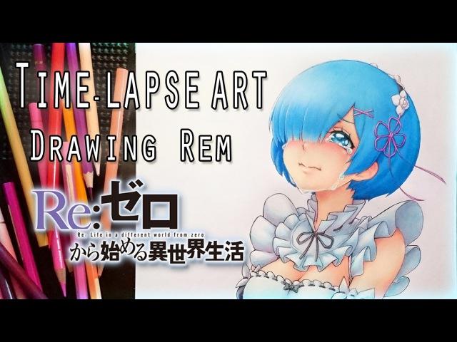 Drawing Rem - Re:Zero (Rem Collab)