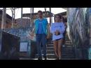 Isabela Moner y Marco Zunino en Iquitos con UNICEF