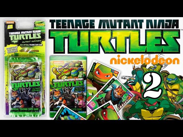 Карточки 2 [Черепашки Ниндзя | TMNT Mutant Mayhem Card] Серия №2 2015 Panini
