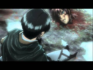 Shingeki no kyojin - вторжение титанов - Гнев Леви