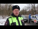 Сотрудники ГИБДД Калининграда задержали нетрезвого водителя и вооруженного па ...