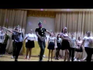 Отряд СОБР на Конкурсе инсценированной песни Песня в солдатской шинели 17.02.2017