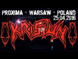 Krisiun LIVE @ Proxima - Warsaw - Poland - 25.05.2016 - Dani Zed - Brasilian Death Metal
