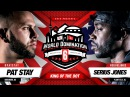 KOTD - Rap Battle - Pat Stay vs Serius Jones   WD6ix