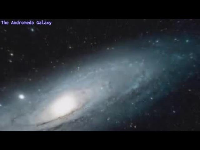 Ахуенный ZOOM галактики Андромеда :)