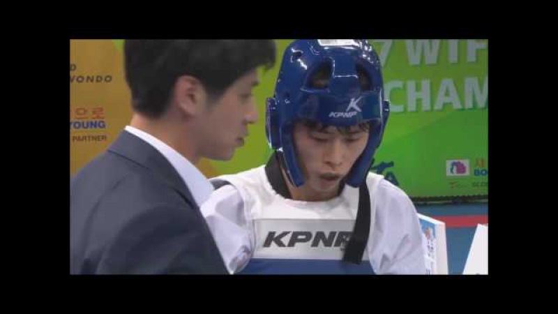 WTF World Taekwondo Championships Muju 2017 Final -54kg KOR vs IRI Male