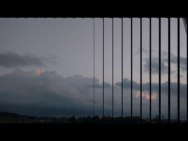 Гроза в деревне / Storm in the village
