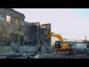 Снос-демонтаж здания после пожара