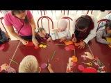 Художественная  мастерская на детском фестивале