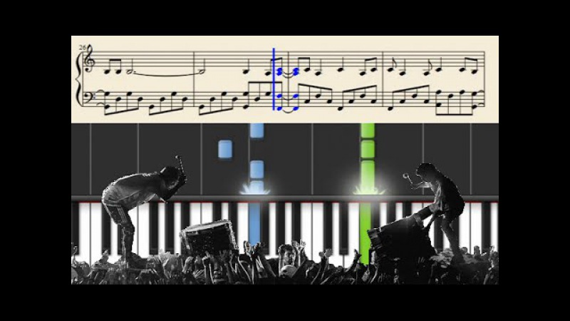 Twenty one pilots: Trees (Emotional Roadshow Live Version) - Piano Tutorial SHEETS