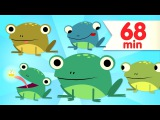 Five Little Speckled Frogs   More Kids Songs   Super Simple Songs